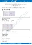 Hướng dẫn giải bài 1,2,3,4,5 trang 23 SGK Toán 3