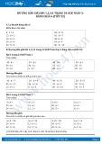 Hướng dẫn giải bài 1,2,3,4 trang 24 SGK Toán 3