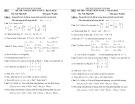Đề thi cuối học kỳ 2 môn Toán 2 (Hệ Việt Nhật)