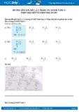 Hướng dẫn giải bài 1,2 trang 29 SGK Toán 3