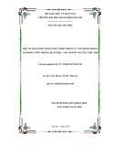 Luận văn Thạc sĩ Kỹ thuật: Một số giải pháp nhằm phát triển dịch vụ tài chính trong Tập đoàn Viễn thông Quân đội - Chi nhánh Viettel Phú Thọ