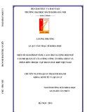 Luận văn Thạc sĩ Khoa học: Giải pháp nâng cao chất lượng cán bộ quản lý của Tổng Công ty Hóa chất và phân bón Dầu khí