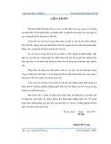 Luận văn Thạc sĩ Quản trị kinh doanh: Một số giải pháp nhằm hoàn thiện công tác hoạch định chiến lược tại Tổng công ty Hàng hải Việt Nam