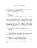 Tóm tắt luận văn Thạc sĩ Khoa học: Phân tích và đề xuất một số giải pháp phòng ngừa và hạn chế rủi ro tín dụng tại các Ngân hàng thương mại trên địa bàn tỉnh Phú Thọ