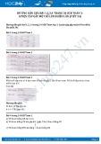 Hướng dẫn giải bài 1,2,3,4 trang 34 SGK Toán 3