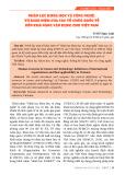 Nhân lực khoa học và công nghệ: Từ khái niệm của các tổ chức quốc tế đến khả năng vận dụng cho Việt Nam