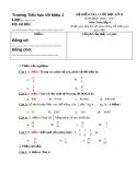 Đề kiểm tra cuối học kỳ II năm học 2016-2017 môn Toán lớp 4 - Tiểu học Võ Miếu 1