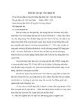 Tóm tắt luận văn Thạc sĩ: Dự án đầu tư công trình thủy điện Bảo Lâm - Tỉnh Hà Giang