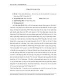 Tóm tắt luận văn Thạc sĩ: Hoàn thiện Marketing – Mix dịch vụ cho bộ sản phẩm M1 Account tại Ngân hàng TMCP Hàng Hải Việt Nam