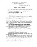 Tóm tắt luận văn Thạc sĩ: Phân tích và đề xuất một số giải pháp nâng cao năng lực cạnh tranh của tỉnh Phú Thọ