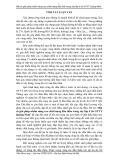 Tóm tắt luận văn Thạc sĩ: Một số giải pháp nhằm nâng cao chất lượng đấu thầu trong xây lắp ở Sở GTVT Quảng Ninh