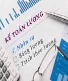 Báo cáo thực tập: Hoàn thiện công tác trả lương, trả thưởng tại Công ty Cổ Phần Nhiên Liệu Sài Gòn