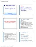 Bài giảng Kỹ thuật vệ sinh chi phí thấp 1 - PGS.TS. Nguyễn Việt Anh