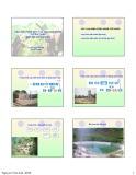 Bài giảng Cấp nước quy mô nhỏ: Các giải pháp xử lý và lưu trữ nước chi phí thấp quy mô hộ gia đình - PGS.TS. Nguyễn Việt Anh