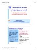 Bài giảng Kỹ thuật vệ sinh chi phí thấp: Các công trình vệ sinh tại chỗ, xử lý nước thải phân tán, chi phí thấp - PGS.TS. Nguyễn Việt Anh