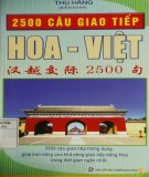 Ebook 2500 câu giao tiếp Hoa Việt: Phần 2