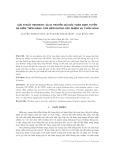 Giải thuật heuristic và di truyền giải bài toán định tuyến đa điểm trên mạng cảm biến không dây nhiệm vụ tuần hoàn
