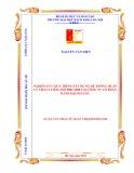 Luận văn Thạc sĩ Quản trị kinh doanh: Nghiên cứu quá trình xây dựng hệ thống quản lý chất lượng ISO 9001 2008 tại Công ty Cổ Phần Bánh Kẹo Hải Hà
