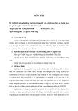 Tóm tắt luận văn Thạc sĩ: Đánh giá sự hài lòng của khách hàng đối với chất lượng dịch vụ khách hàng tại ngân hàng Sacombank chi nhánh Vũng Tàu