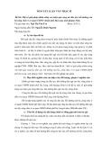 Tóm tắt luận văn Thạc sĩ: Một số giải pháp nhằm nâng cao hiệu quả công tác đào tạo, bồi dưỡng cán bộ công chức ở cơ quan UBND thành phố Hạ Long, tỉnh Quảng Ninh