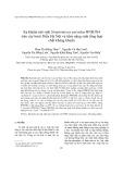 Xạ khuẩn nội sinh Streptomyces parvulus HNR3X4 trên cây bưởi Diễn Hà Nội và tiềm năng sinh tổng hợp chất kháng khuẩn
