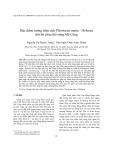 Đặc điểm tướng trầm tích Pleistocen muộn - Holocen đới bờ châu thổ sông Mê Công