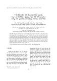 Tiến hóa trầm tích tầng mặt thềm lục địa khu vực Hà Tĩnh - Quảng Nam (60-100 m nước) trong mối quan hệ với sự thay đổi mực nước biển