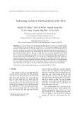 Ảnh hưởng của bão ở Việt Nam thời kỳ 1961-2014