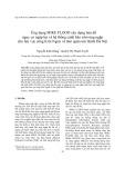 Ứng dụng MIKE FLOOD xây dựng bản đồ nguy cơ ngập lụt và hệ thống cảnh báo sớm úng ngập cho lưu vực sông Kim Ngưu và tám quận nội thành Hà Nội