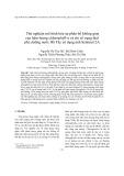 Thử nghiệm mô hình hóa sự phân bố không gian của hàm lượng chlorophyll-a và chỉ số trạng thái phú dưỡng nước Hồ Tây sử dụng ảnh Sentinel-2A