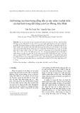 Ảnh hưởng của hàm lượng đồng đến sự nảy mầm và phát triển của hạt bưởi trong đất trồng cam Cao Phong, Hòa Bình