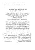 Đặc điểm địa hóa và nguồn gốc dung dịch địa nhiệt Mỹ Lâm, Tuyên Quang