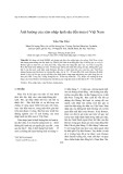 Ảnh hưởng của xâm nhập lạnh sâu đến mưa ở Việt Nam
