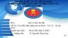 Bài thuyết trình đề tài: Phân phối độc quyền Biến tần MICNO tại Việt Nam