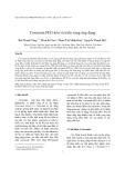 Curcumin PEG hóa và triển vọng ứng dụng