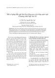 Một cố gắng diễn giải bài Hoạt động giao tiếp bằng ngôn ngữ (Chương trình Ngữ văn 10)