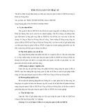 Tóm tắt luận văn Thạc sĩ: Một số giải pháp nâng cao hiệu quả công tác quản lý đầu tư XDCB tại Công ty Điện lực Hoàng Mai