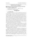Tóm tắt luận văn Thạc sĩ: Phân tích và đề xuất một số giải pháp hoàn thiện quản lý nhân lực tại Công ty Cổ phần May Nam Định (Nagaco)