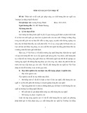 Tóm tắt luận văn Thạc sĩ: Phân tích và đề xuất giải pháp nâng cao chất lượng đào tạo nghề của Trường Cao đẳng Nghề Dầu khí