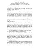 Tóm tắt luận văn Thạc sĩ: Hoạch định chiến lược kinh doanh cho Công ty Chè Mộc Châu giai đoạn 2012-2017