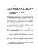 Tóm tắt luận văn Thạc sĩ: Một số giải pháp hoàn thiện công tác quản lý và khai thác nguồn thu thuế ngoài quốc doanh tại huyện Hải Hà, tỉnh Quảng Ninh