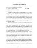 Tóm tắt luận văn Thạc sĩ: Phân tích và đề xuất giải pháp hoàn thiện công tác quản lý các dự án công trình khoan dầu khí tại Xí nghiệp liên doanh Vietsovpetro