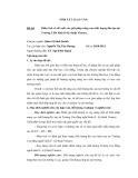 Tóm tắt luận văn Thạc sĩ: Phân tích và đề xuất các giải pháp nâng cao chất lượng đào tạo tại Trường CĐN kinh tế-kỹ thuật Vinatex