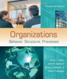 Ebook Organizations - Behavior,  structure,  processes (14th edition): Part 1