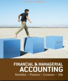 financial & managerial accounting (10th edition): part 1