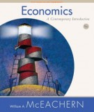 Ebook Economics  - A contemporary introduction (9th edition): Part 2