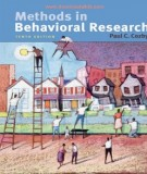 methods in behavioral research (10th edition): part 1