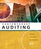 Ebook Contemporary auditing (8th edition): Part 1