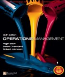Ebook Operations management (6th edition): Part 1