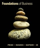 Ebook Foundations of business (2nd edition): Part 2